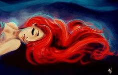mermaids and red hair are the best thing in this world. ariel is the best
