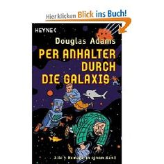 """Per Anhalter durch die Galaxis""-Romane      The Hitchhiker's Guide to the Galaxy"