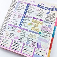 I can't wait to use my planner! Great way to use all my stickers and extra scrapbooking things :)