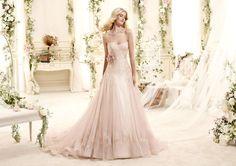 Moda sposa 2015 - Collezione COLET. EBBIE COAB15280PK. Abito da sposa Nicole.