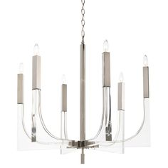 Finished in silver and clear Neutral Palette, Furniture Collection, Candelabra, Traditional Design, Modern Classic, Chandelier Lighting, Contemporary Style, Modern Furniture, Iron