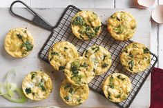 These bite-sized morsels combine delicious fetta with the goodness of greens to create mini frittatas that are packed with nutrition and flavour. Just Pies, Fairy Bread, Cheesy Hashbrowns, Beef Pies, Flaky Pastry, Filo Pastry, Frittata Recipes, Maker, Perfect Breakfast