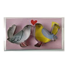 Love Birds Cookie Cutters  Set of 2 -- You can find more details by visiting the image link.