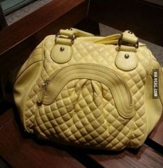 Let's see who has the worst case of pareidolia - post photos of everyday objects with faces. - Funny - Check out: Do You Have Pareidolia? Things With Faces, Weird Things, Sword Fight, Wtf Face, Hidden Face, Everyday Objects, Optical Illusions, Funny Faces, Louis Vuitton Speedy Bag