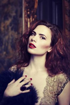 Hayley Atwell!! I love Agent Carter!!