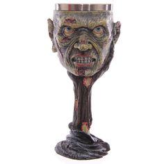 Zombie-Kopf Trinkkelch