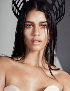 Graphic eyeliner looks from The Wild Magazine.