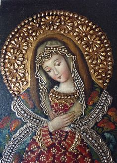 Divine Mother, Blessed Mother Mary, Blessed Virgin Mary, Religious Pictures, Religious Icons, Religious Art, Madonna, Holly Pictures, Verge