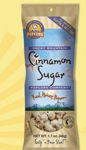 Free Cinnamon Sugar Popcorn from Rocky Mountain Popcorn Company!!
