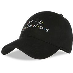 0f5e0f9633a65 REAL F.R.I.E.N.D.S Baseball Cap. Winter Hats For MenHockeyHat EmbroideryHat  ...