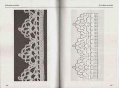 60 bordures au crochet – Les tricots de Loulou – Webová alba Picasa