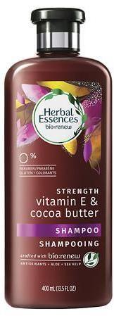 Herbal Essences Bio:Renew Strengthening Shampoo Vitamin E & Cocoa Butter Herbal Essences, Cocoa Butter, Vitamin C, Aloe, Herbalism, Shampoo, Personal Care, Black Beauty, Bottle