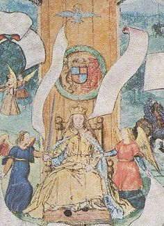 On this day in Bishop Gardiner crowned Mary Tudor Queen of England at Westminster Abbey; Mary was the first Queen of England to be crowned in her own right. First Queen Of England, Mary I Of England, Uk History, Tudor History, Ancient History, Tudor Monarchs, Mary Tudor, Tudor Dynasty, Images Of Mary