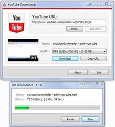 #YouTube Downloader Using C# .NET