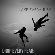 Take every risk. Bucket List Spring 2014 Take every risk. Base Jumping, Bungee Jumping, Skydiving Quotes, Skydiving Videos, Paragliding, Adventure Quotes, Extreme Sports, Belle Photo, Life Quotes