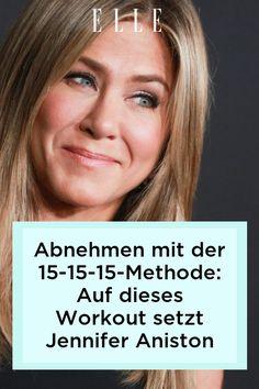 Wie bleibt Jennifer Aniston nur dauerhaft schlank? Dieses Workout ist die Antwort! Es hilft beim Abnehmen und sorgt für eine definierte Figur. Jennifer Aniston Workout, Fett, Beauty, Monat, Tricks, Healthy Diet Foods, Dieting Tips, Metabolism, Slim