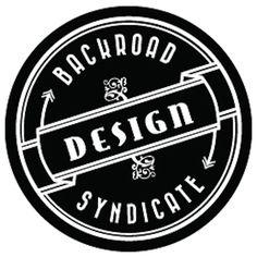Backroad Design Syndicate Coffee Logo, Badge, Identity, Monogram, Stamp, Stickers, Retro, Logos, Pattern