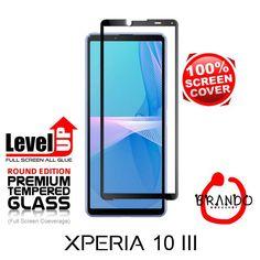 Brando Workshop Full Screen Coverage Glass Protector (Sony Xperia 10 III) - Black Phone Screen Protector, Glass Protector, Usb Gadgets, Sony Xperia, Workshop, Black, Atelier, Black People, Work Shop Garage