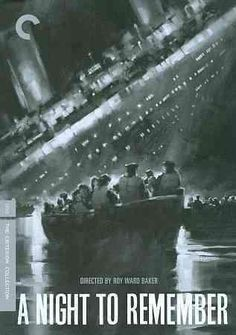 Directed by Hammer horror director Roy Ward Baker, this is another version of the tale of the doomed maiden voyage of the Titanic, told in a semi-documentary style through the eyes of the ship's secon