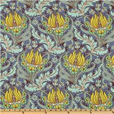 Amy Butler Soul Blossoms Bliss Temple Tulips Azure  Item Number: DQ-424  Our Price: $8.98 per Yard