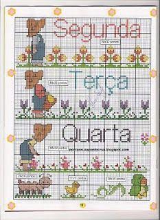 Cross Stitch Baby, Cross Stitch Charts, Crochet Doilies, Cross Stitching, Bookmarks, Pattern, Handmade, Cross Stitch Letters, Cross Stitch Love