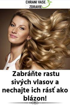 Zabráňte rastu sivých vlasov a nechajte ich rásť ako blázon! Detox, Health Fitness, Health And Fitness, Gymnastics