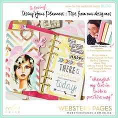 Webster's Pages Gold Planner Andrea Gomoll