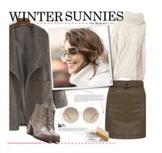 """""""Winter Sunnies"""" by beebeely-look ❤ liked on Polyvore featuring moda, Woolrich, Chloé, Cullen, Burberry y wintersunnies"""