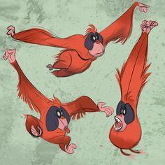 Orangutan by AndyBarry.deviantart.com on @DeviantArt