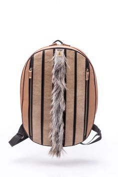 "Backpack ""rhythm of stripes"""