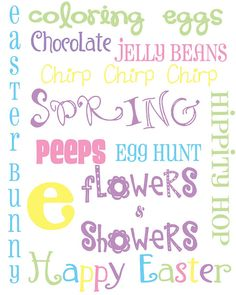 Easter FREE {8x10} printables.  2 to choose from.