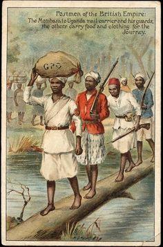 Postmen of the British Empire (Mombasa - Uganda)