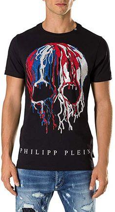 f2a0ecd0593 ... Amazon.fr  Vêtements et accessoires. alexpressliencache · Luxe · Philipp  Plein - T-shirt - Col Ras Du Cou - Homme noir noir -