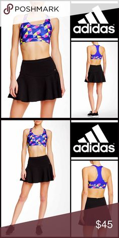 "ADIDAS SPORT SKIRT ADIDAS Sport Skirt 💟NEW WITH TAGS💟 AMAZING STYLE!  SIZING- S = 4-6, L =10-12, XL = 14-16 ADIDAS SPORT SKIRT Mini  * Super soft & textured stretch-to-fit fabric  * Flared hem & A-line silhouette  * Concealed back zip closure   * Approx 15"" long for size S & 16.5"" for XL  * Fits true to size  * Quick drying    Fabric- 68% polyester & 32% Cotton  Color: Black Item# SEARCH# studio skater 🚫No Trades🚫 ✅ Offers Considered*✅ *Please use the blue 'offer' button to submit an…"