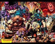 X-Men Villains - Jim Lee