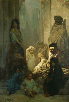 Gustave Doré La Siesta, Memory of Spain, 1868