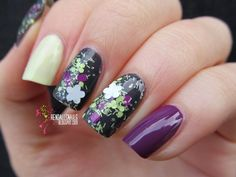 Nailpolis Museum of Nail Art | Golden Rose Carnival 26 Swatch by Julia Friedel