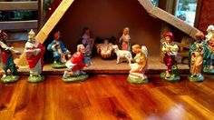 """5"""" Vintage Nativity Set Made in Italy"""