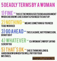 Guys.. THESE ARE TRUE!!!!