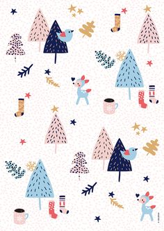 Wrapping paper by Oelwein