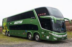 Volvo Paradiso 1800 DD G7 con 15 metros de largo para la empresa Solimões Transpor...