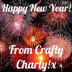 Happy New Year to all you wonderful Crafties! Thanks for all your support through 2014, and here's to 2015! Charly x #craftycharly #newyear #2015