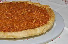 Almond pie - http://cozinhafresh.blogspot.pt/2013/01/tarte-de-amendoa.html