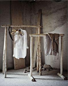 EN MI ESPACIO VITAL: Muebles Recuperados y Decoración Vintage: Decoración de reciclaje: Palos y tablas { Decoration with recycled things }