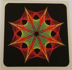 Fadengrafik+Karte+Geometrie+12+NEON+UV+Licht+Garn+von+Rene´s+Fadengrafiken+auf+DaWanda.com