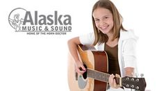 $95 for 9 Weeks of Guitar Lessons for Beginners at Alaska Music & Sound ($195 Value) http://akrwds.com/Aifjfb