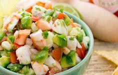 Shrimp Avocado Salsa http://www.prevention.com/food/weird-but-delicious-salsa-recipes/slide/6