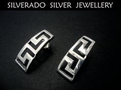 Ancient Greek Narrow Eternity Key Meander by SilveradoJewellery, €28.00