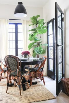 14 Ways to Decorate Like a Fench Woman | Bistro Chairs