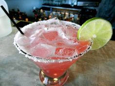 Recipe for the baba-rita from BABALU in Jackson, MS. Delicious margarita with hint of pomegranate... AWESOME.
